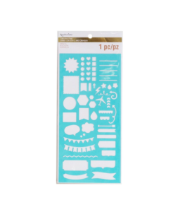 Recollections Planner Stencil