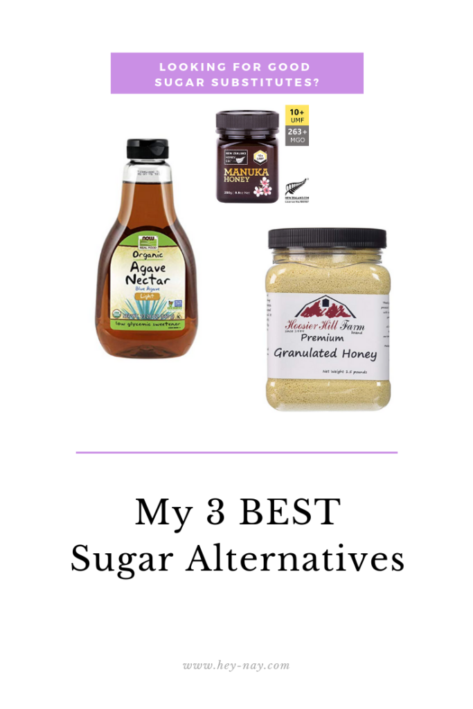 3 best sugar alternative